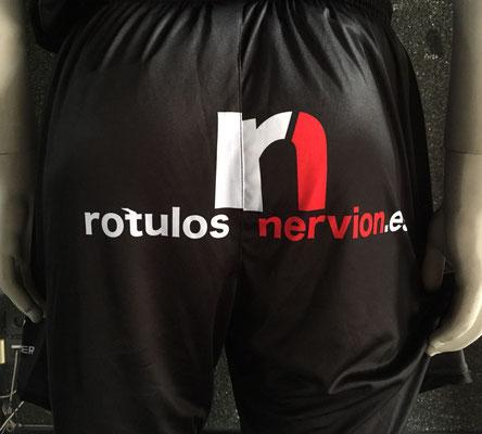 Uniforme de portero Rótulos Nervión