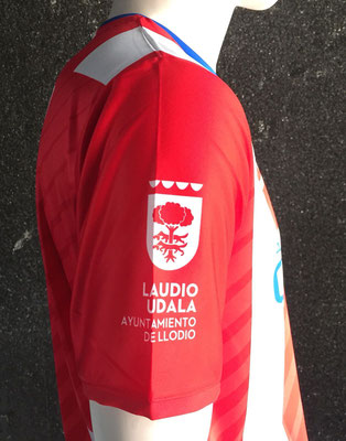 Uniforme de jugador Ayuntamiento de Laudio
