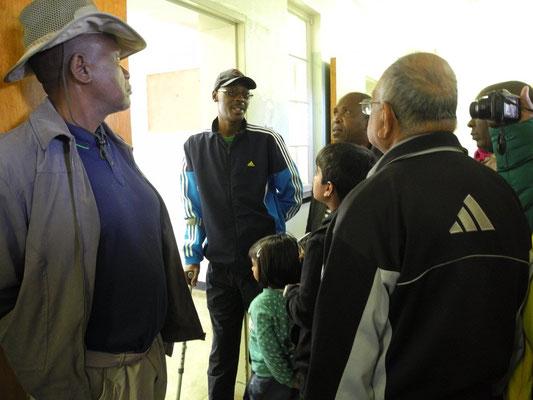 Die Führung wird von ehemaligen politischen Gefangenen durchgeführt