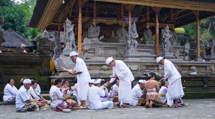 Tempel-Zeremonie