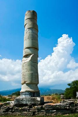 Das Heraion von Samos ist das im Altertum berühmte Heiligtum der griechischen Göttin Hera