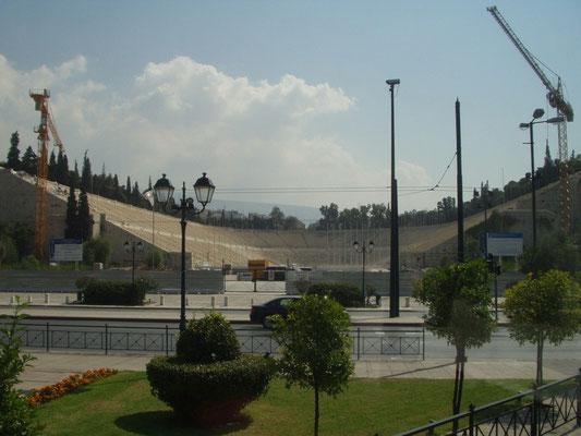 Renovierung des historischen Athener Panathinaiko-Stadion