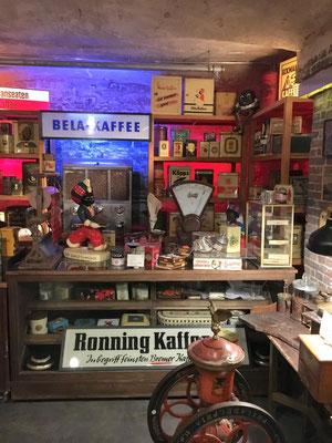 Kaffeemuseum in der Speicherstadt - die Ausstellung ist im sogenannten Genussspeicher untergebracht, einem historischen Lagerhaus am St. Annenufer.