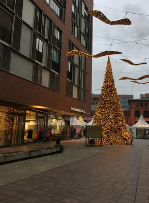 Weihnachtsmarkt in der Hafencity