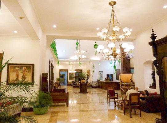 Kresna Gallery Hotel in Wonosobo - gut geeignet für eine Tour zum Dieng Plateau