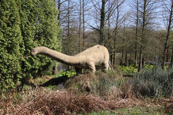 Dinosaurier im Arboretum