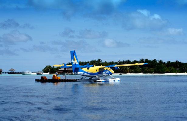 Flugdauer nach Vakarufalhi ca. 30 Minuten