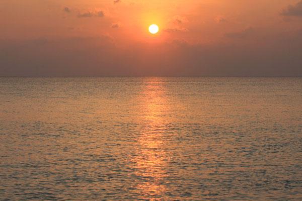 Sunset auf Palm Beach