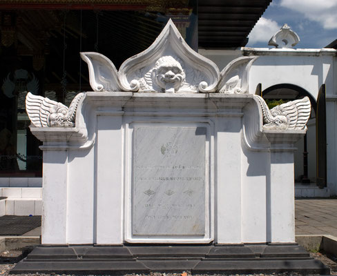 Kraton Sultanspalast in Yogyakarta