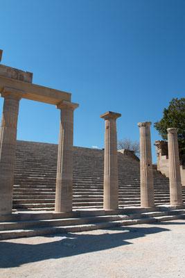 Tempel der Athena Lindia