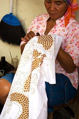 Batikarbeiterin