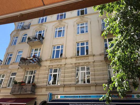 Portugiesenviertel in der Ditmar-Koel-Straße