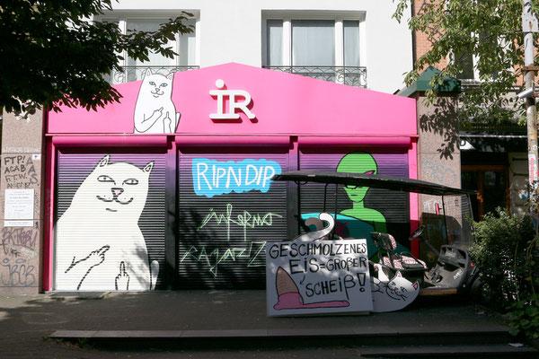 IR - Inferno Ragazzi - Erster Store der Lifestyle-Marke in der Schanze