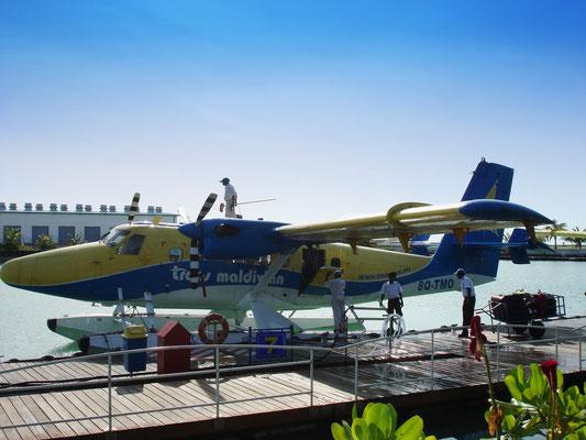 Wasserflugzeughafen auf Hulhule