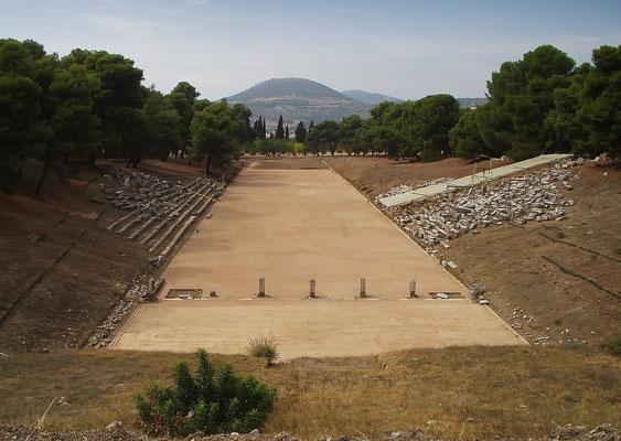 Antikes Olympiastadion - Laufbahn