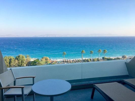 Großzügiger Balkon mit toller Panorama Aussicht
