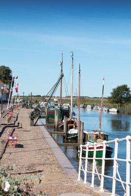 Der Hafen in Ribe