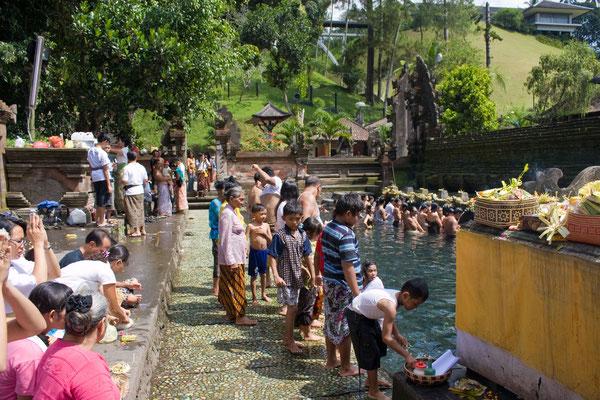 Pura Tirta Empul - Tempelanlage mit seinen Heiligen Quellen