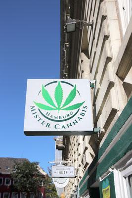 Mister Cannabis - Der Laden in Hamburg für alles, was mit (legalem) Cannabis zu tun hat. ;-)