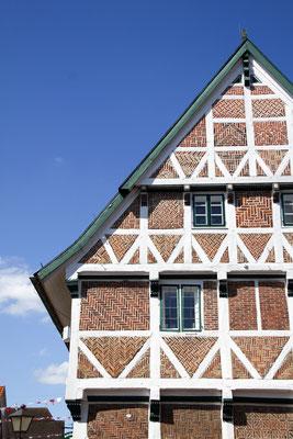 Rathaus Jork Detailansicht