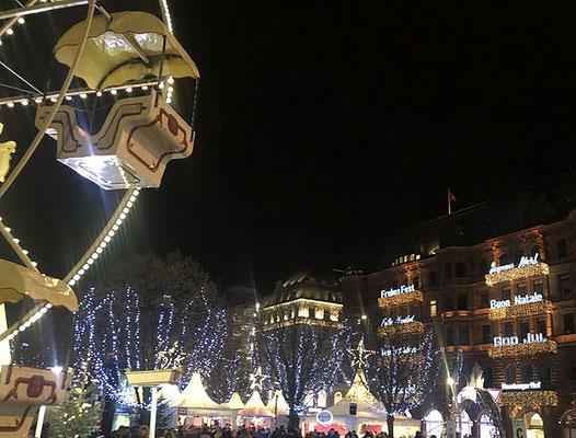 Weihnachtsmarkt Weißer Zauber auf dem Jungferntieg - immer wieder märchenhaft schön.