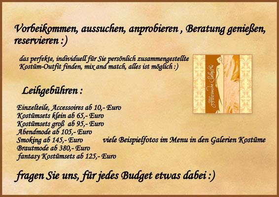 #Preise Leihgebühren
