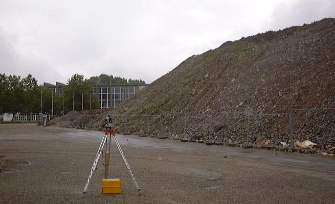 Aufnahme eines Zwischenlagers zur Berechnung des Volumens n. REB VB 22.013