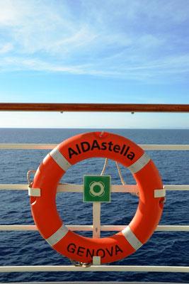 AIDAstella im Mittelmeer