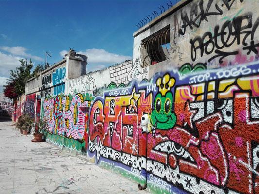 Graffiti-Straße