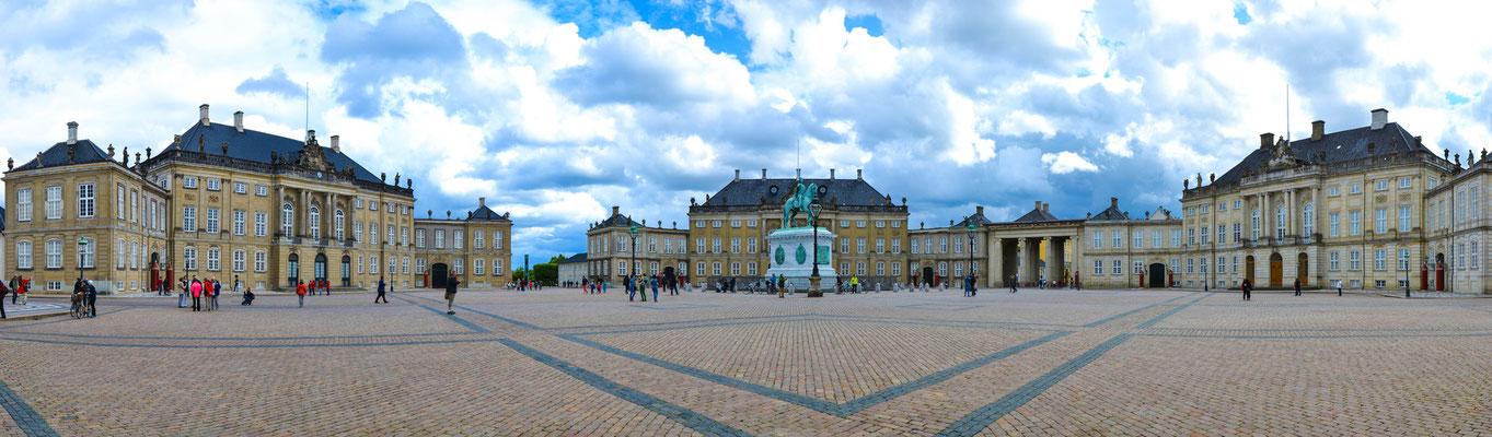 Schloss Amalienborg © Ben Simonsen