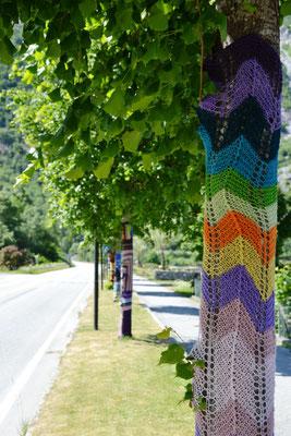Urban Knitting in Eidfjord