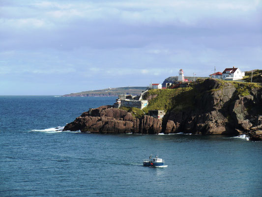 Hafeneinfahrt von St. John's