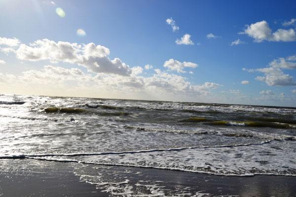 Strand von IJmuiden