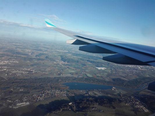 Landeanflug München © Ben Simonsen