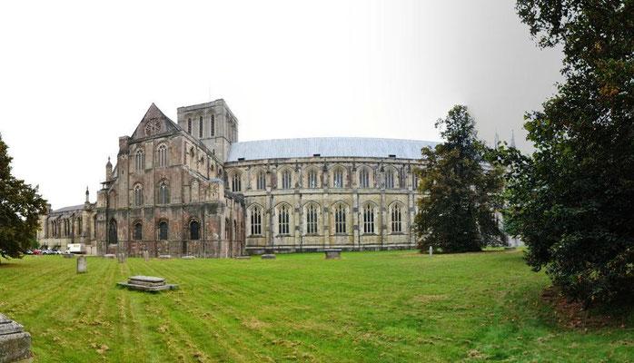 Die Kathedrale von Winchester