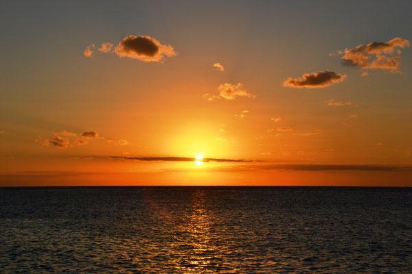 Sonnenuntergang auf Cozumel