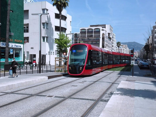 Tram in Nizza © Ben Simonsen