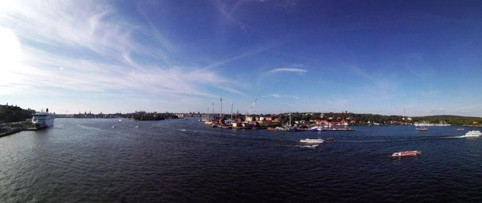 Blick auf Stockholm © Ben Simonsen