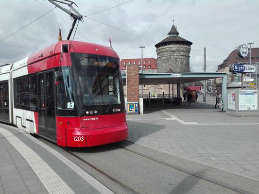 Straßenbahn zum Tiergarten