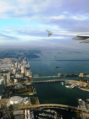 Downtowm Miami mit American Airlines Arena