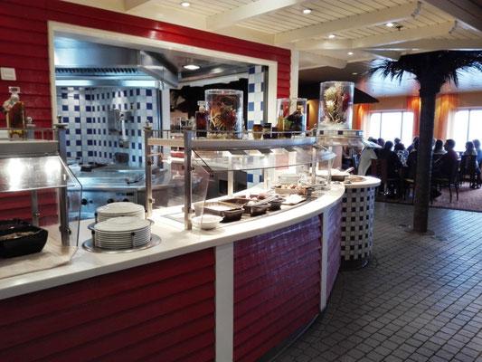 Frühstücksbuffet im Weite Welt Restaurant © Ben Simonsen