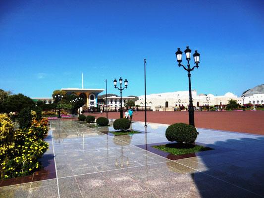 Vorplatz vom Palast
