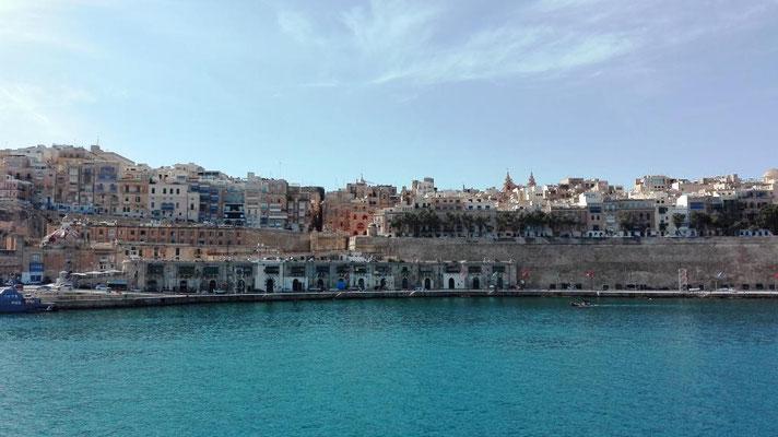 Blick auf die Altstadt von Valletta