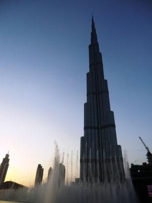 Burj Khalifa & Dubai Fountain