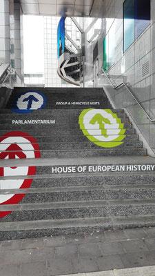Treppe ins Europaviertel