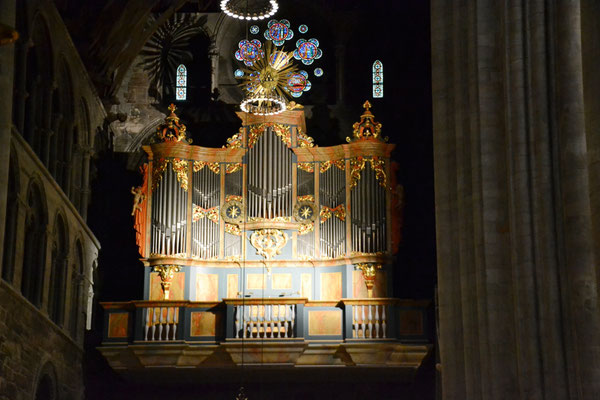 Orgel des Nidarosdoms