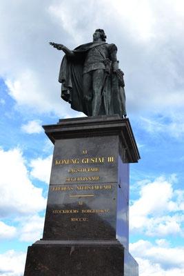 Denkmal König Gustaf III.