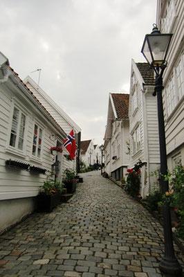 Eine Gasse in Stavanger