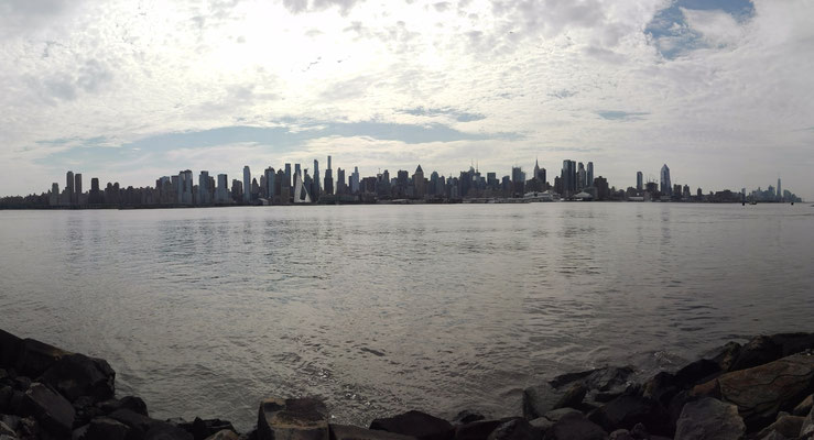 Viewpoint New Jersey auf West Manhattan