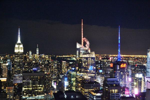 Blick nach Downtown Manhattan ©Ben Simonsen